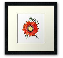 Flower From my Garden Framed Print