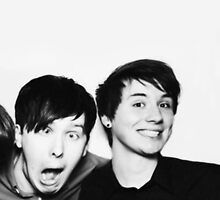 Black and White// Dan And Phil!!! by AlexandraLester