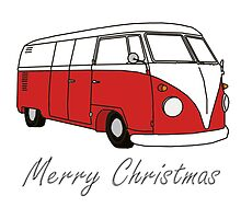 Merry Christmas Kombi Lovers! by Bami