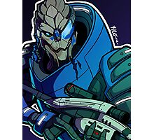 Garrus Vakarian - Scratch One! Photographic Print