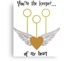 Keeper of my Heart Metal Print