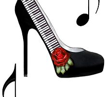 ¸.•*•♪ღ♪¸.•*¨¨PIANO KEY HIGH HEEL STEPPING TO THE BEAT¸.•*•♪ღ♪¸.•*¨¨  by ╰⊰✿ℒᵒᶹᵉ Bonita✿⊱╮ Lalonde✿⊱╮