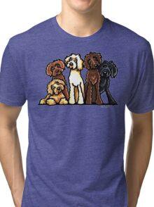 Doodle Rainbow Tri-blend T-Shirt