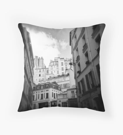 Apartments, Paris Throw Pillow