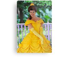 Belle at Hong Kong Disneyland. Metal Print