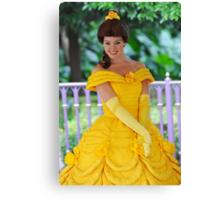 Belle at Hong Kong Disneyland. Canvas Print