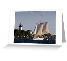Pinky Ardelle Rounds Ten Pound Island Greeting Card