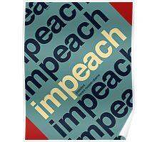 Impeach President Barack Obama Poster