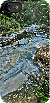 A RIVER RUNS THROUGH - IPHONE by Scott  d'Almeida
