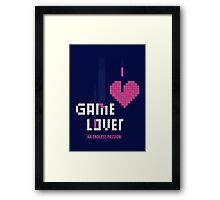 Game Lover Framed Print