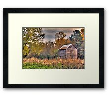 Laurie's Barn Framed Print