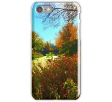 Fall Green iPhone Case/Skin