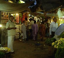 New Delhi Night Market by Skye Hohmann