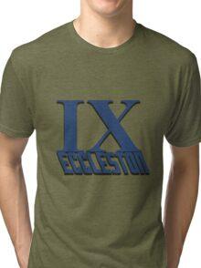 Doctor Who: IX - Eccleston Tri-blend T-Shirt