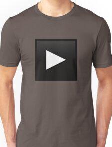 BreakbitMusic.com Winter 2011 Play button Unisex T-Shirt