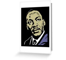 MLK-4 COLOUR Greeting Card