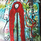Spirit's and Hooded Figure by Carol Berliner