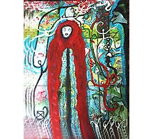 Spirit's and Hooded Figure Photographic Print