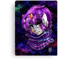 Broccoli in Space Canvas Print
