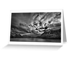 Chilean Fiords 2 Greeting Card