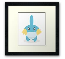 Mudkip - Pokemon Framed Print