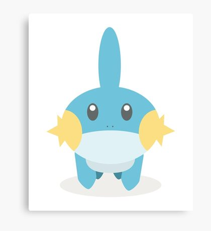 Mudkip - Pokemon Canvas Print