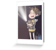 BeeLock Greeting Card