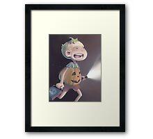 PumpkinJohn Framed Print