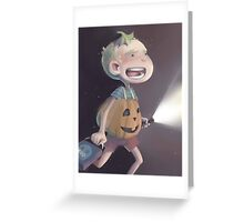 PumpkinJohn Greeting Card