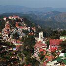 Shimla Town by Skye Hohmann