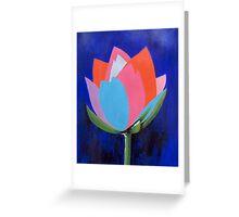 Flashy Flower Greeting Card