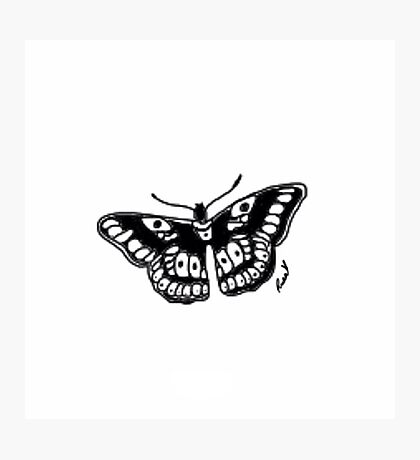 Butterfly Tattoo Photographic Print