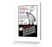 Betelgeuse Greeting Card