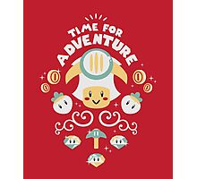 Time for Adventure Toad Photographic Print