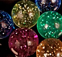 Glowing Bouncing Balls by Sherry Hallemeier