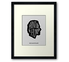 Survive Together Framed Print