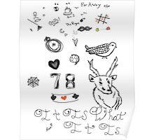 Louis Tattoos Poster