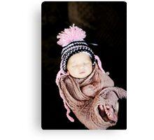 Precious Beauty Baby Canvas Print