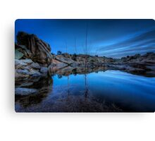 Dells At Dusk Canvas Print