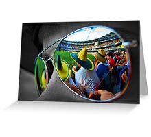 Cricket at the 'GABBA Greeting Card