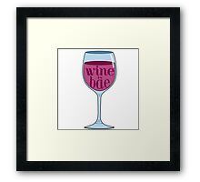 Special request-Wine Framed Print