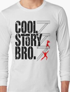 West Side Story, Bro. (Black) Long Sleeve T-Shirt