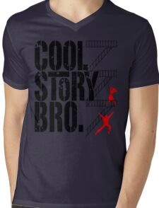 West Side Story, Bro. (Black) Mens V-Neck T-Shirt