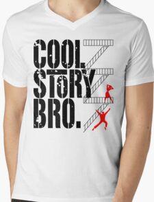 West Side Story, Bro. (Black) Mens V-Neck T-Shirt
