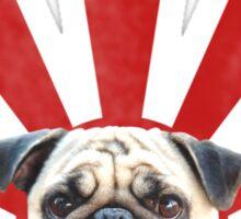 pug time Sticker