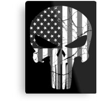 American Punisher - Subdued Metal Print