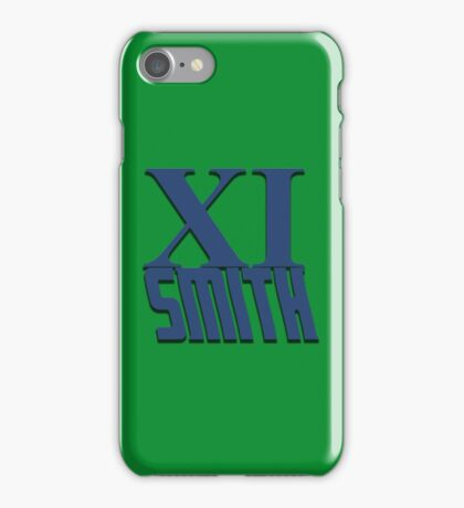 Doctor Who: XI -Smith iPhone Case/Skin