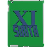 Doctor Who: XI -Smith iPad Case/Skin