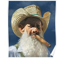 Man with the Cigar Poster