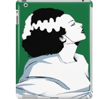 Bride Of Frankenstein, classic horror style  iPad Case/Skin